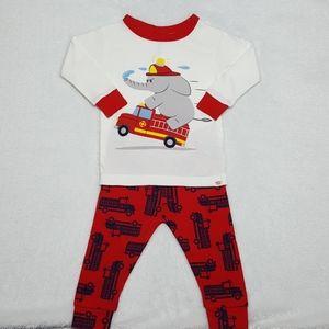 NEW Baby GAP infant boys' 2-piece pajama set